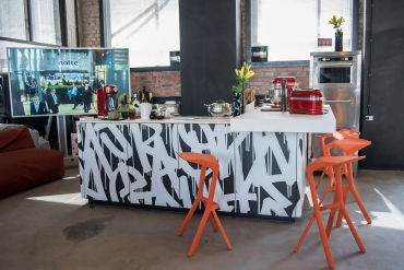 Дизайнерский остров nolte neo Loft на St. Petersburg Design Week