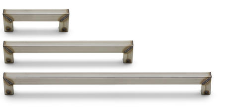 Handle combination 812 Natural Metal with welded look