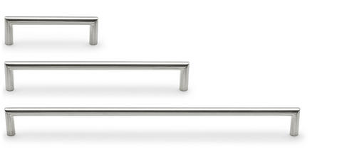 Handle combinations 828 Stainless steel look